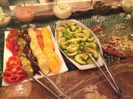 Churrascaria Vento Haragano : Abacate para eliminar a gordura ruim do organismo.