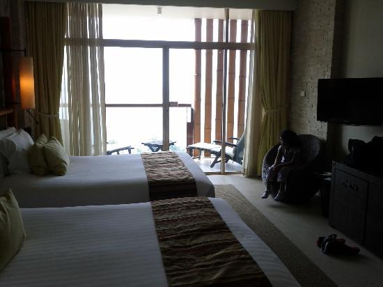 Centara Grand Mirage Beach Resort: FAmily Room Beds