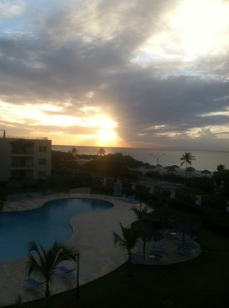 View from our Suite at Oceania Residences