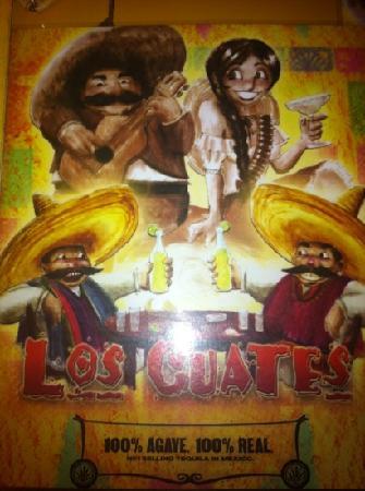 Los Cuates: tequila de mango