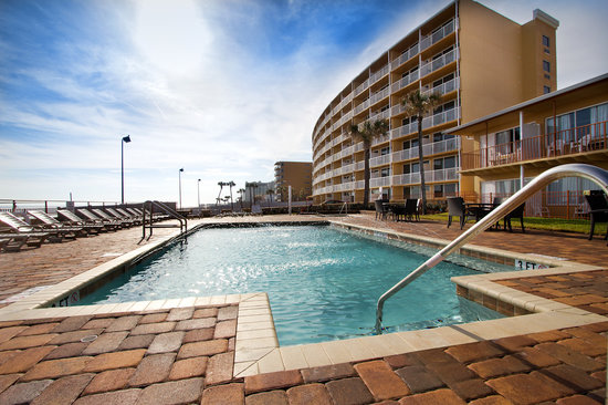 Econo Lodge Oceanfront: Pool Deck