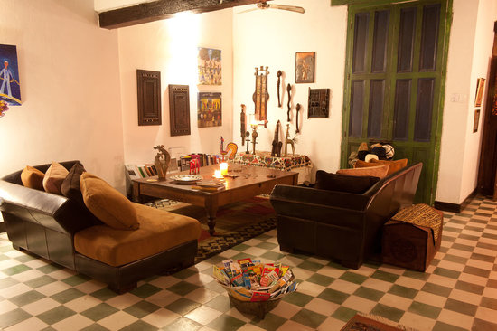 Hotel Casa Amani: Living Room