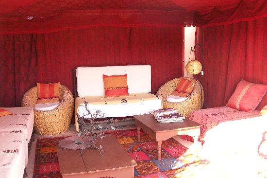 Riad Dalla Santa : la tente sur le toit