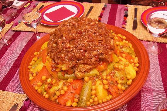 Riad Dalla Santa: on peut aussi y manger