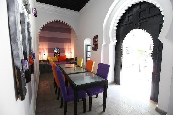 Riad7 : sallle restaurant