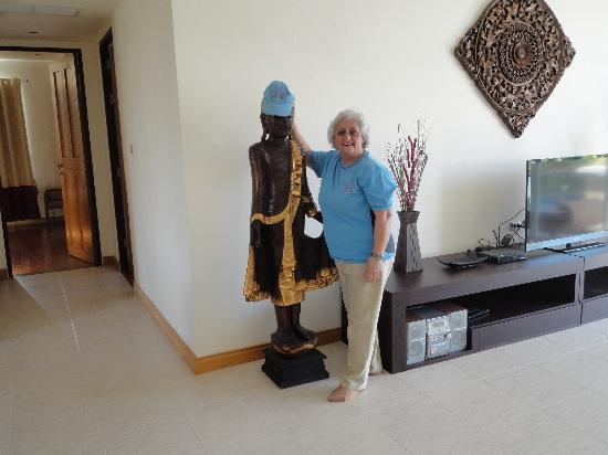 Sunvillas Hua Hin Blue Lagoon: Friendly Maid