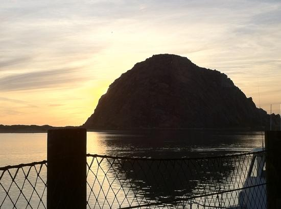 Great American Fish Co : Morro Rock Sunset