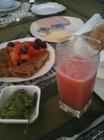 Hotel Tiare Pacific: Desayuno...muy rico!