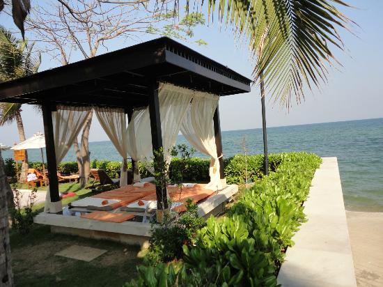 Sunvillas Hua Hin Blue Lagoon: Massage place at the Sheraton