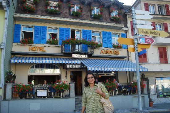 The Hotel Restaurant Aarburg: the hotel Aarburg