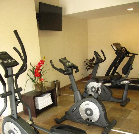Icaro Suites: Gym