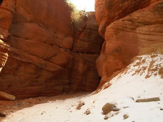 mystical slot canyon kanab utah