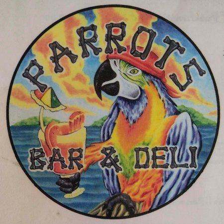 Parrots Bar and Deli : Parrot Bar & Deli Sign