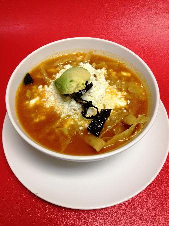 Poblano Pepper Grill: Aztec Soup