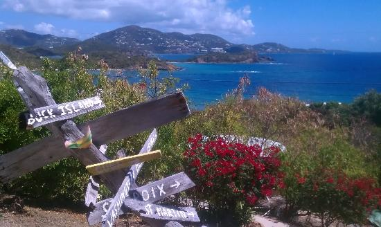 Virgin Islands Campground: View from the resort
