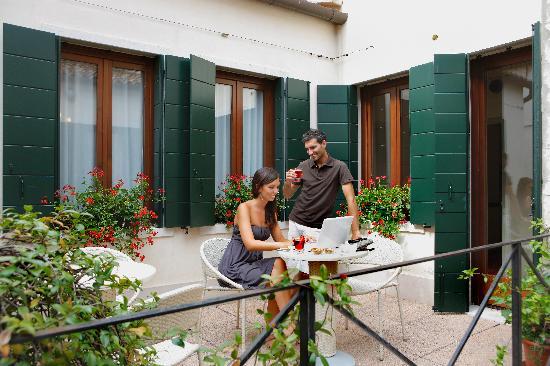Hotel Violino d'Oro: Terrazza