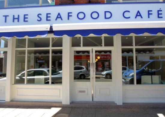 The Seafood Cafe: Tis a nice looking place - nice food, but not got a pic