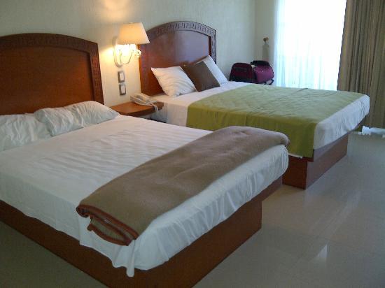 Hotel Posada Sian Ka'an: beds