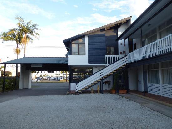 Pacific Motel: Zona recepción
