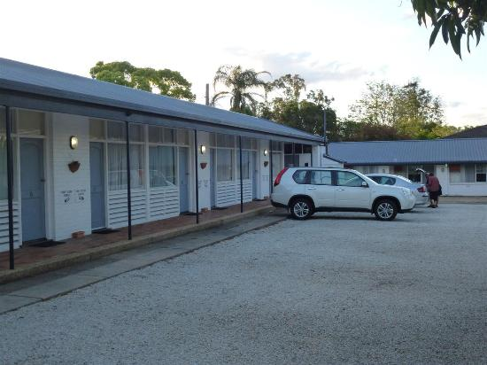 Pacific Motel: Párking