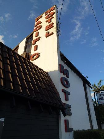 Pacific Motel : Entrada hotel