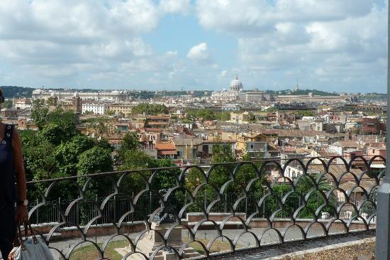panorama da villa borghese foto di villa borghese roma tripadvisor. Black Bedroom Furniture Sets. Home Design Ideas