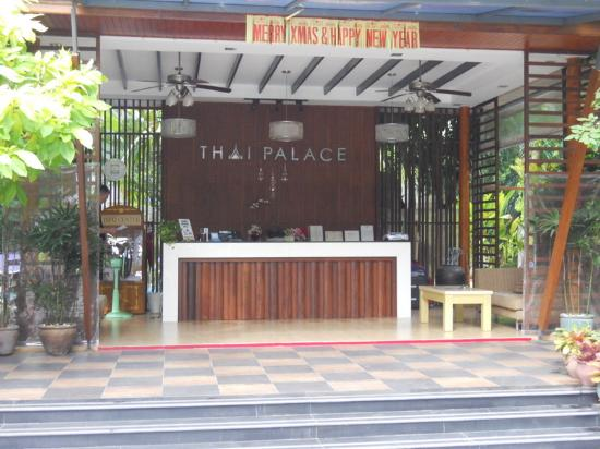 Thai Palace Resort: Reception