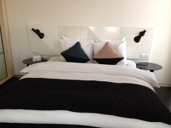 AC Hotel by Marriott Bella Sky Copenhagen: fantastiske dejlige senge på Bella Sky