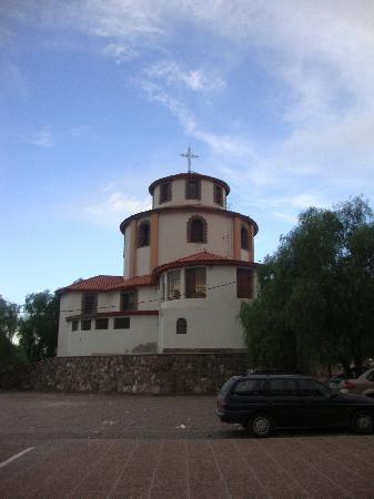 Santuario de la Virgen de Lourdes: Primera iglesia