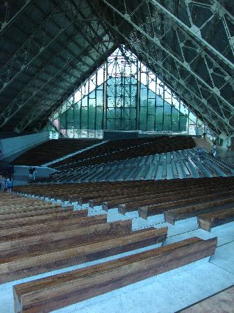 Santuario de la Virgen de Lourdes: Interior