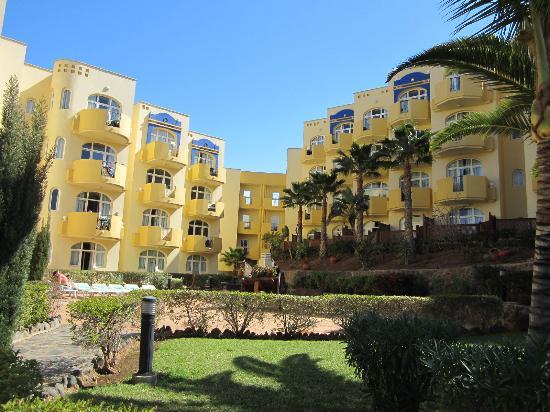 Monte Feliz: HOTEL côté jardin
