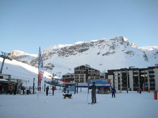 Hotel Vanoise : bleu et blanc