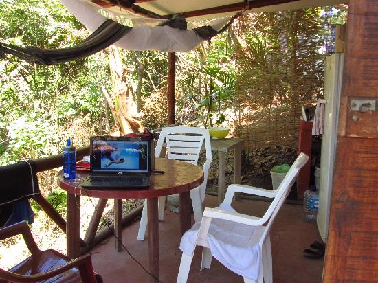 Red Frog Villas: our porch