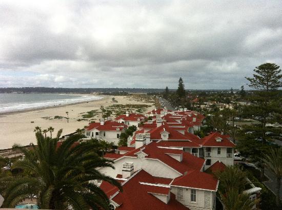 Hotel del Coronado: North side King room view