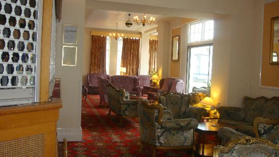 The Risboro Hotel: the bar lounge