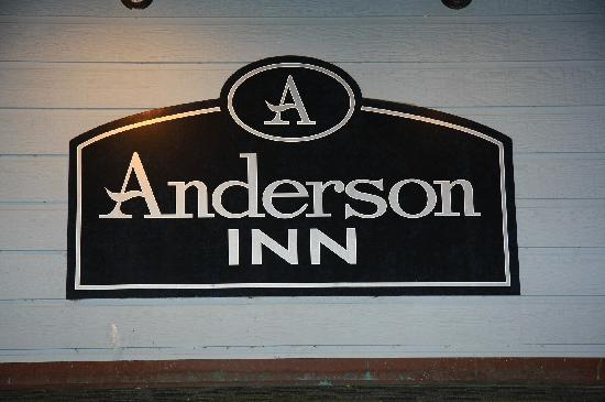 Anderson Inn: Building Sign