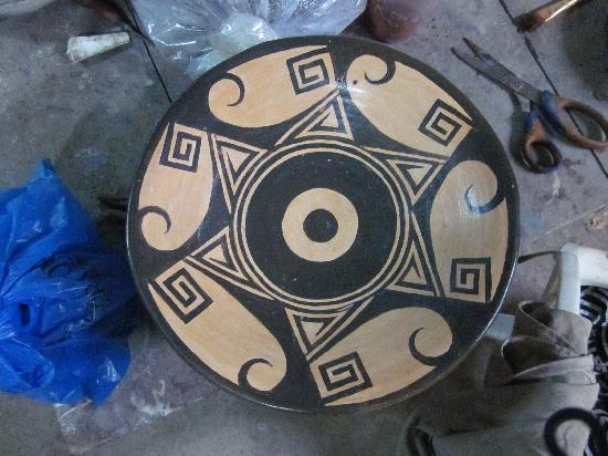 Guaitil Pottery Studio: Finished article !