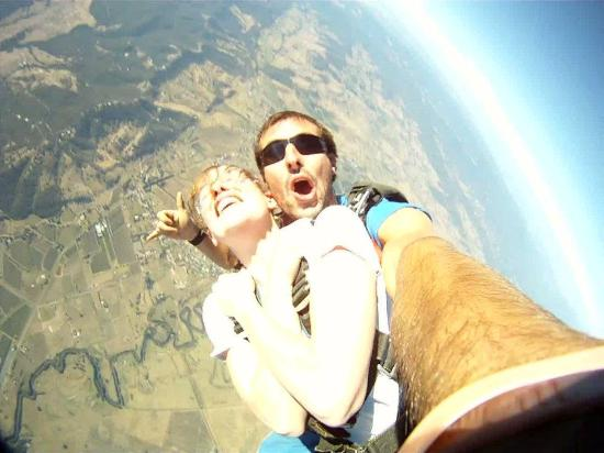 Skydive Yarra Valley: lets go