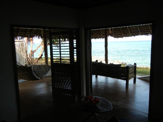 Matemwe Lodge, Asilia Africa: view out our bungalow
