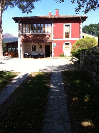 Hotel Rural Coviella: la Recepcion y zona de desayuno