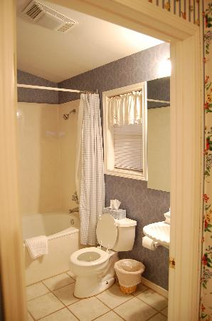 All Seasons Main Street Retreat: The bathroom