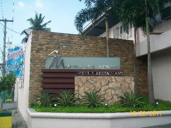 Mount Sea Resort: entrance