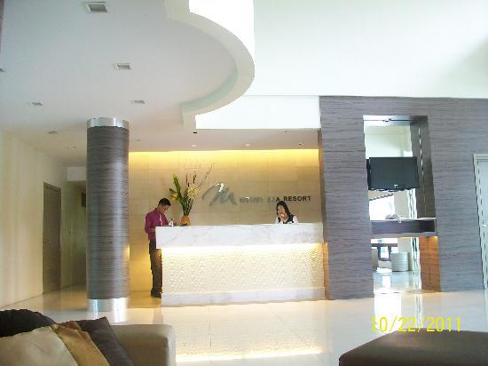 Mount Sea Resort: reception