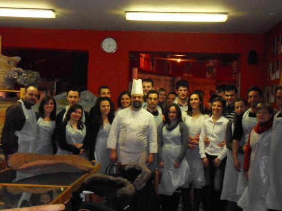 Vicoforte, Italia: Corso di pasticceria