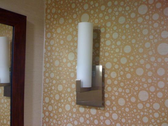 Hilton Knoxville: light in the bathroom is burned out