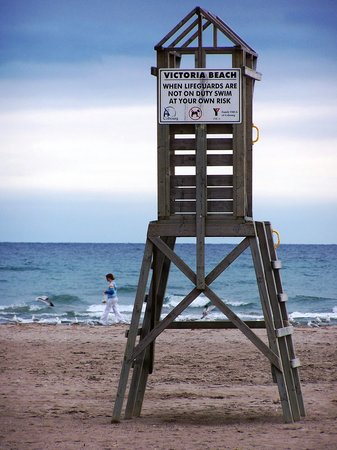 Cobourg Beach: Life Guard Tower