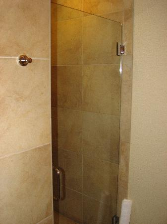 The Harbor Grand: Separate shower.