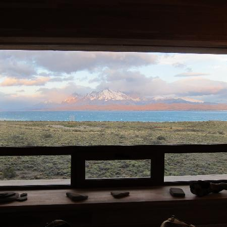 Tierra Patagonia Hotel & Spa: View from our bedroom.