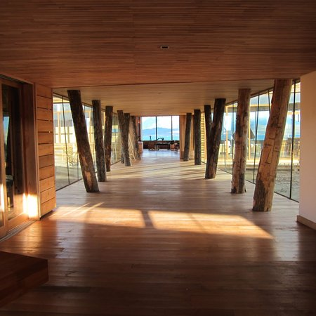 Tierra Patagonia Hotel & Spa: The entrance
