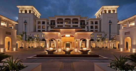 The St. Regis Saadiyat Island Resort - Entrance